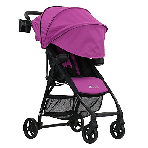 ZOE XL1 BEST v2 Lightweight Travel & Everyday Umbrella Stroller System (Eloise Plum)