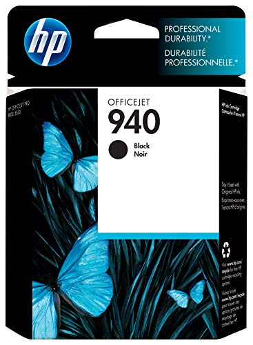 HP 940 Black Original Ink Cartridge (C4902AN) for HP Officejet Pro 8000 8500
