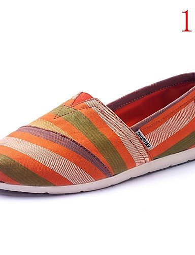 Tacón de eu39 5 Zapatos 4 Casual eu39 uk6 cn39 uk6 Tela 5 cn37 uk4 us8 eu37 gyht Mocasines us6 Plano us8 ZQ Multicolor 5 7 cn39 4 mujer Comfort Exterior 5 wqEIxTC6