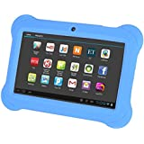 SODIAL(R) 4GB Android 4.4 Wi-Fi Tablet PC Beautiful 7 inch Five-Point Multitouch Display - Special Kids Edition Blue