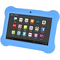TOOGOO(R) 4GB Android 4.4 Wi-Fi Tablet PC Beautiful 7 inch Five-Point Multitouch Display - Special Kids Edition Green
