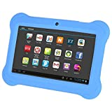 TOOGOO(R) 4GB Android 4.4 Wi-Fi Tablet PC Beautiful 7 inch Five-Point Multitouch Display - Special Kids Edition Blue