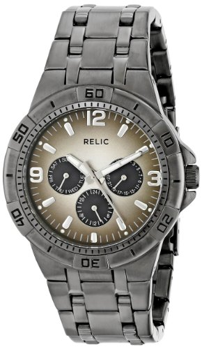 Relic Men's ZR15546 Garrett Gunmetal Watch