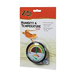 2 Easy Mounting Options Humidity & Temperature Gauge