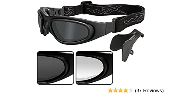 604cd503d924 Amazon.com: Wiley X SG-1 Goggle SG-1M: Sports & Outdoors