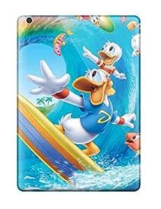 AaRziEv4669ZLTLI Donald Daffy Duck Cartoon Awesome High Quality Ipad Air Case Skin
