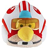 "Official Angry Birds Star Wars 8"" Plush Toy From Series 1 - Luke Skywalker (X-Wing helmet)"