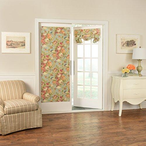 - WAVERLY Spring Bling Window Door Panel, 68x26, Vapor