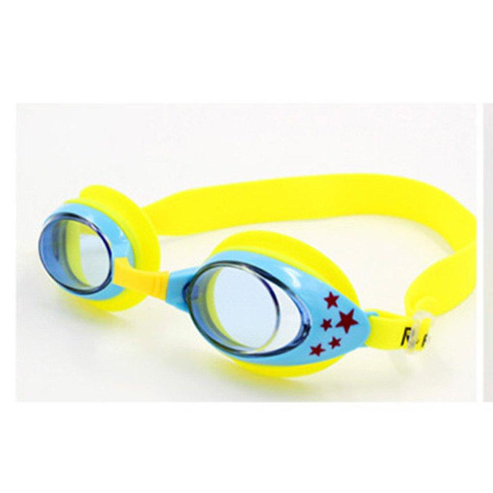 CapsA Anti-Fog Swimming Goggles for Kids Waterproof Adjustable Swim Glasses for Children