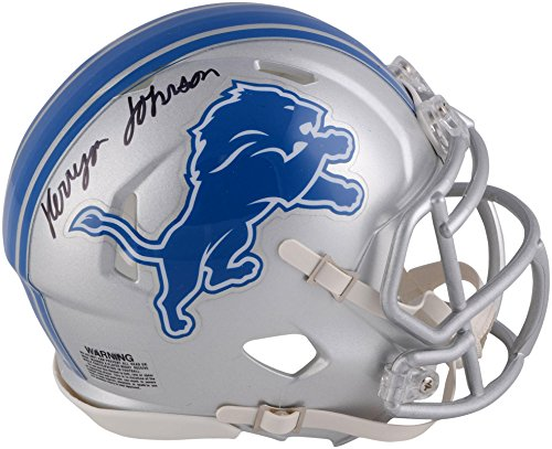 Kerryon Johnson Detroit Lions Autographed Riddell Speed Mini