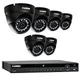 Lorex 8 Channel NR9082 4K Home Security System with 6 Weatherproof 4MP Dome LNE4422B IP Cameras For Sale