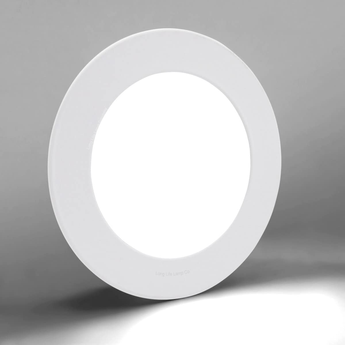G.W.S/® 12W Ultra Thin Round Circle LED Recessed Flat Panel Downlight Ceiling Light Day White LED Driver Included