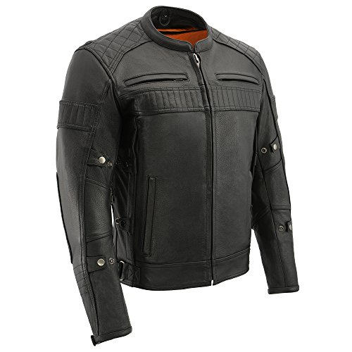 Milwaukee Men's Vented Scooter Jacket (Black, 4X-Large)