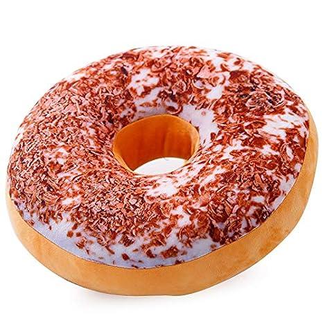 POPRY Creativo, cojín de simulación Donut, Pan, angefülltes ...