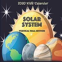 2020 Kid's Calendar: Solar System Vertical Wall
