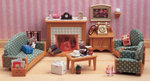Sylvanian Families Victorian Living Room Set Amazoncouk Toys Games