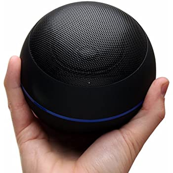 GOgroove Portable Bluetooth Speaker with AUX Input , Rechargable 16+ Hour Battery , Stereo Sound - Built-In Microphone , On Board Controls for Calls / Track Selection ( Gravity Black)