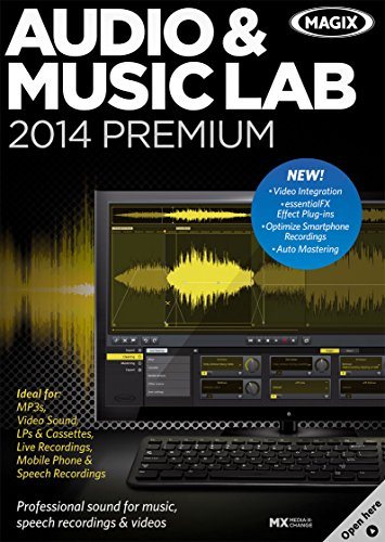 MAGIX Audio & Music Lab 2014 Premium [Download] by MAGIX