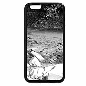 iPhone 6S Case, iPhone 6 Case (Black & White) - Crystal Clear Lake