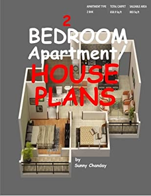 2 Bedroom Apartment House Plans By Chanday Sunny Amazon Ae,Fashion Design Universities