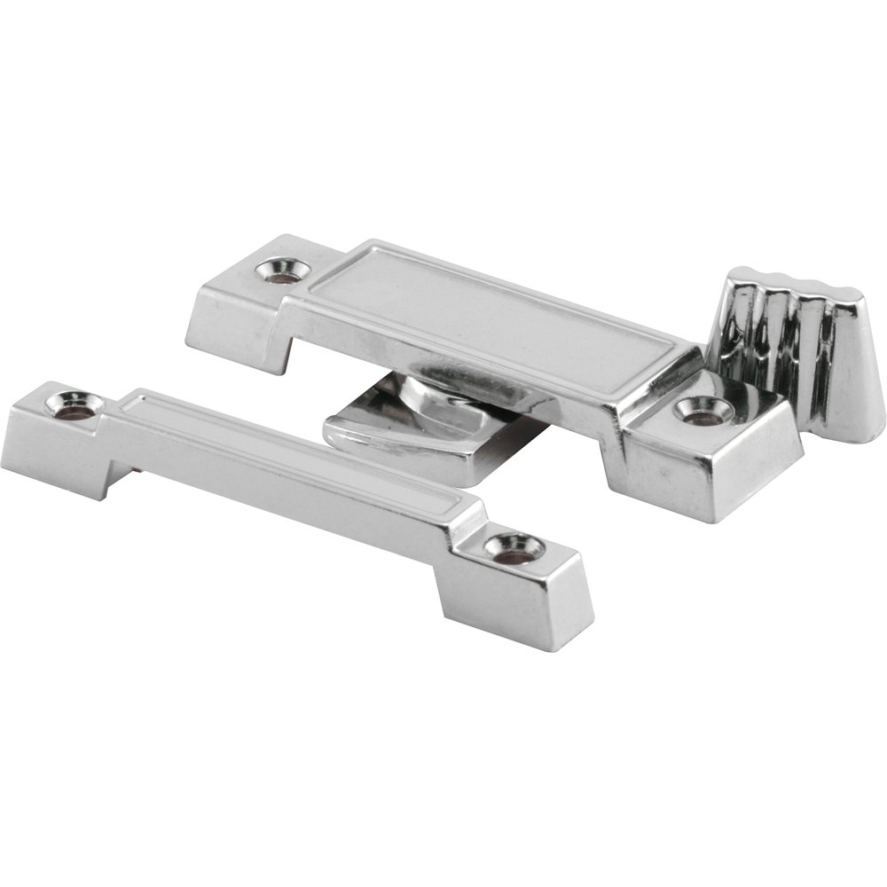 Prime-Line Products F 2531 Window Sash Lock, Cam Action, Universal, Chrome Diecast