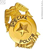 Fbi Badge Metal Accessory for Police Policeman Fancy Dress