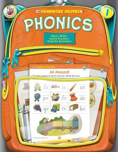 Phonics Homework Helper, Grade 1