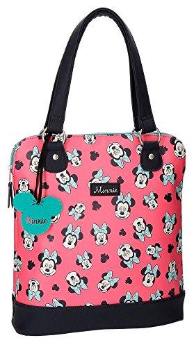 Disney Wink Borsa Messenger, 35 cm, 9.98 liters, Rosa