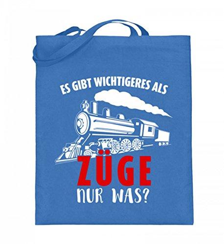Shirtee D6OSFPHP_XT003_38cm_42cm_5739 - Bolso de tela de algodón para mujer Azul azul 38cm-42cm Azul