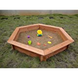 Swing Town Hexagonal Sand Pit
