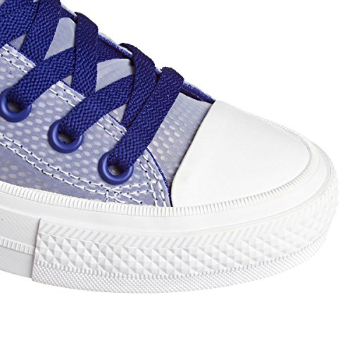 Converse Donne Ct Come 2 Ox Sheen Mesh Meshers Indaco