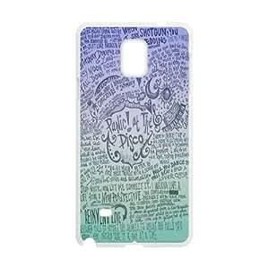 LSQDIY(R) Panic! At The Disco Samsung Galaxy Note 4 Cover Case, DIY Samsung Galaxy Note 4 Case Panic! At The Disco