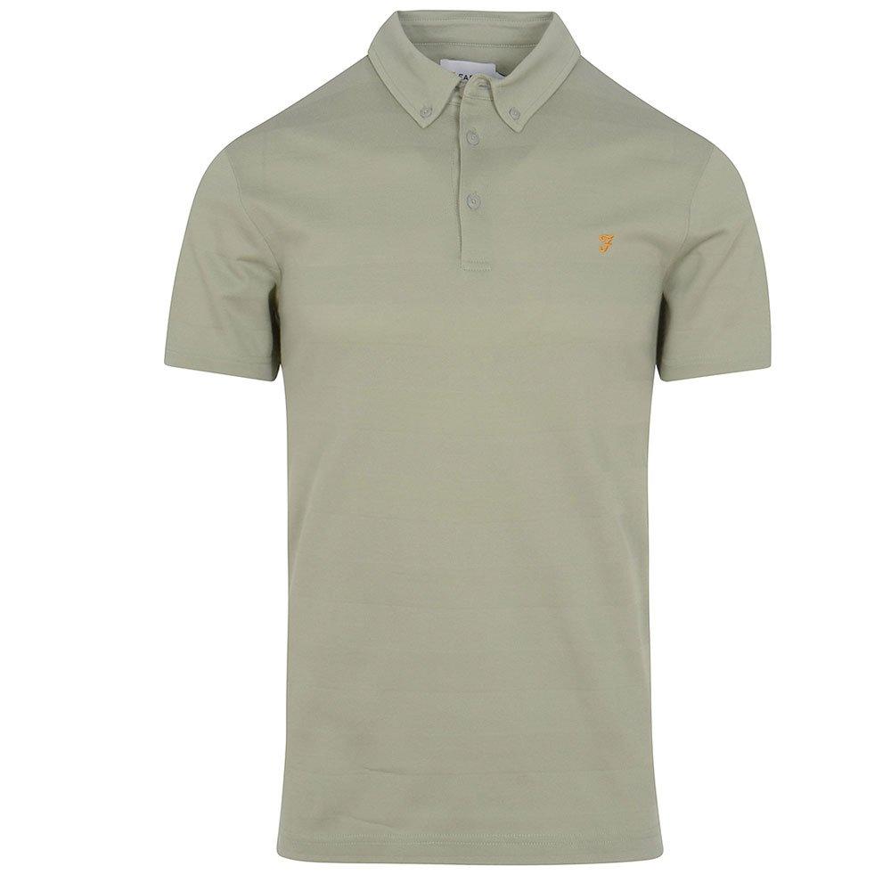 FARAH Stapleton Short Sleeve Mens Polo