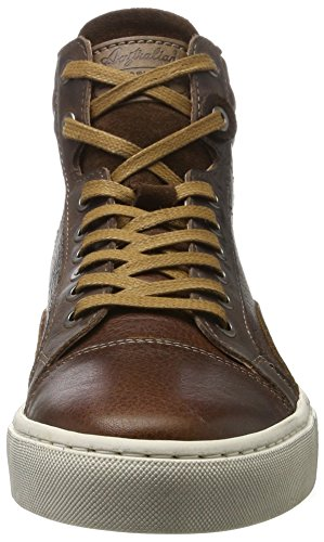 Mehrfarbig A Australian Sneaker Brown Leather Alto Balmoral Combi Collo dark Uomo 4AA0Hxqt