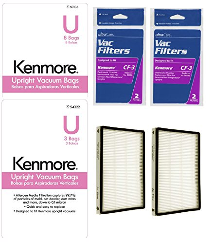 Kenmore Upright Vacuums Chamber Filters