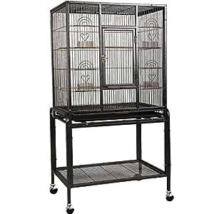 Amazon.com: Parrot Cage inferior parrilla de Sliding ...