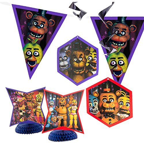 Five Nights at Freddy's Room Decorating Kit ()