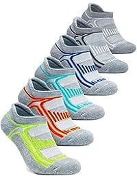 6-Pairs Comfort Socks No-Show/Mid-Calf TM-MZS08/MZS04/MZS05/MZS06/MZS51/MZS54/MZS56