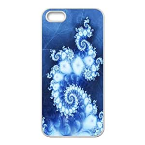 abstract octopus pattern Cases For iPhone 5,5S White