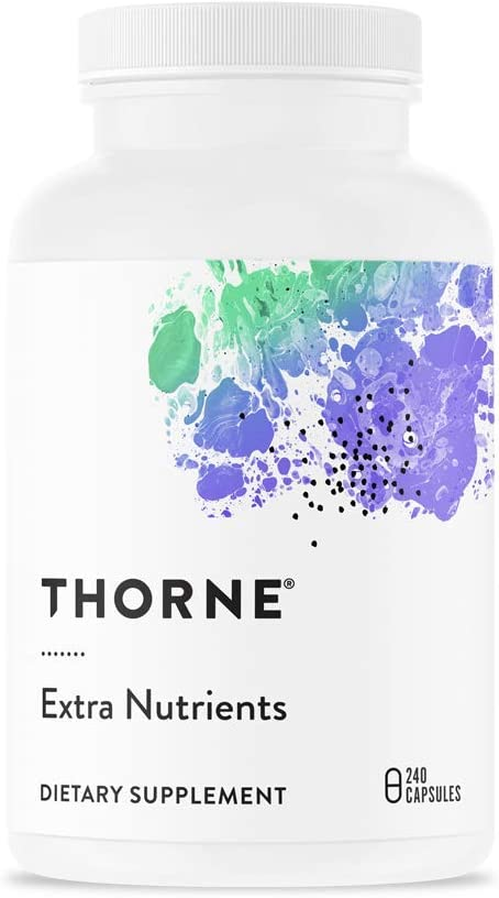 Thorne Research – Extra Nutrients – Multi-Vitamin-Mineral Supplement with Nicotinamide Riboside Niagen – 240 Capsules