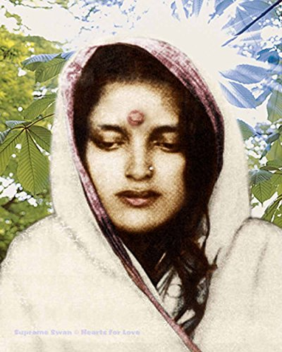 Supreme Swan Anandamayi Ma Art Print - Available in Several Sizes