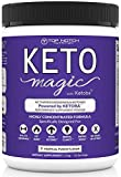 Keto Magic Exogenous Ketone Weight Loss Supplement Powered by Patent-Pending Blend KETOBA (BHB's+BA) | Achieve & Stay in Ketosis & Ketogenesis | Feel Energized, Empowered, Focused & Reach Your Goals!