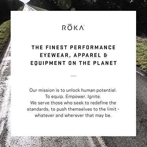 7b74c4be22 Amazon.com   ROKA SR-1 APEX Advanced Sports Performance Ultra Light Weight  Sunglasses Patented Gecko Pad No Slip Ideal Smaller Faces Men Women - Cyan  Frame ...