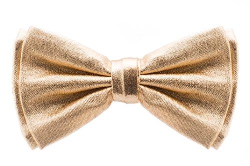 Bowtie - Metallic - Gold -