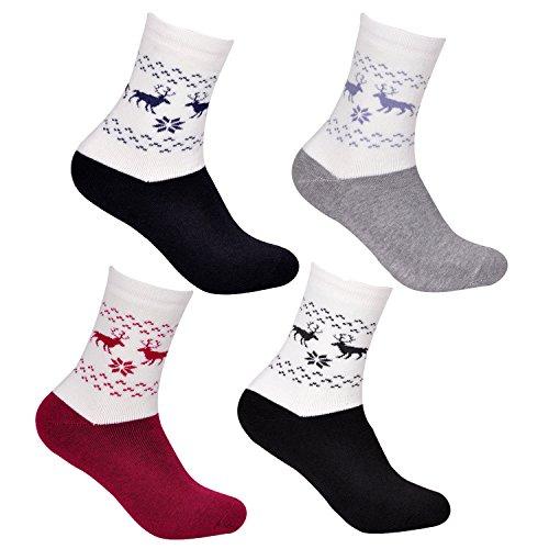 6 Paar Libella Damen Thermo Socken 92257 Größe 38-42