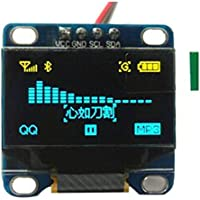Northbear 0.96 Inch Yellow and Blue I2c IIC Serial Oled LCD Display LED Module 12864 128X64 for Arduino Display Project
