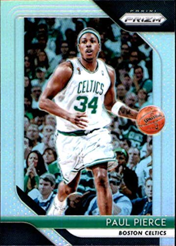2018-19 Prizm Silver Prizms Basketball #175 Paul Pierce Boston Celtics Official NBA Trading Card From Panini America