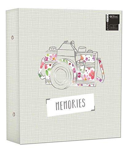 Large Ringbinder Photo Album 500 Photos Memories Design Holds 500