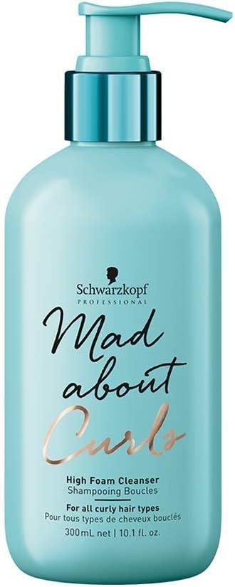 Schwarzkopf - Shampooing Mad About Curls 300 Ml - High Foam Cleanser