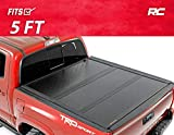 Rough Country Low Profile Hard Tri-Fold (fits) 2016-2020 Tacoma | 5 FT Bed | Folding Tonneau Cover | 47420500